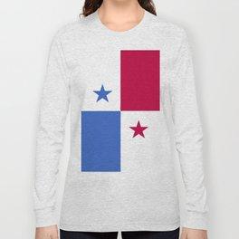 Panama flag emblem Long Sleeve T-shirt