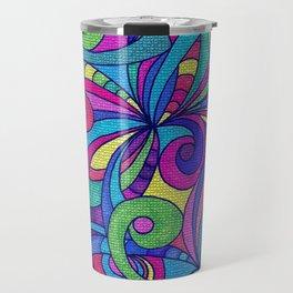 Drawing Floral Doodle G1 Travel Mug