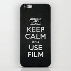 Keep Calm And Use Film iPhone & iPod Skin