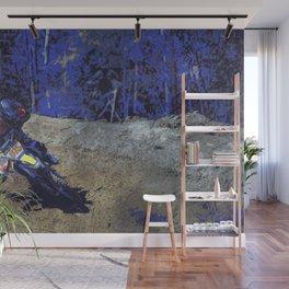Leaning In - Motocross Racer Wall Mural