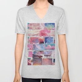 482 = Abstract Collection Unisex V-Neck