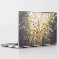 outdoor Laptop & iPad Skins featuring The taller we are by HappyMelvin