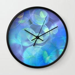 Surreal Fractal Abstract Design Wall Clock