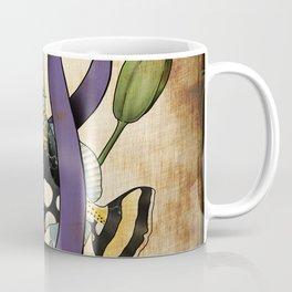 Clown Triggerfish and Awareness Coffee Mug