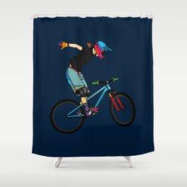 Freeride Shower Curtain