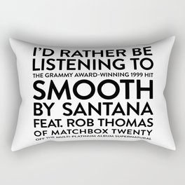 Smooth Rectangular Pillow