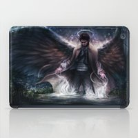 grace iPad Cases featuring Grace by jasric