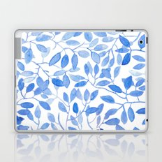 Watercolor Leafs Laptop & iPad Skin