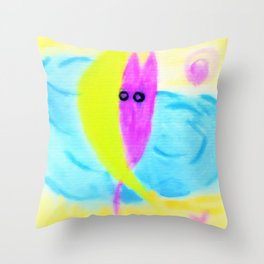 Secretly in love-3 Throw Pillow