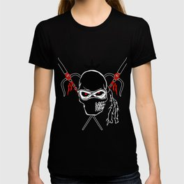 Cartoon Ninja zombie Face T-shirt