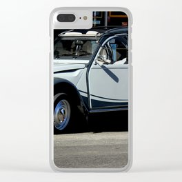 Bebe You Can Drive My Car Clear iPhone Case