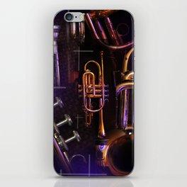 The Trumpet Glow iPhone Skin