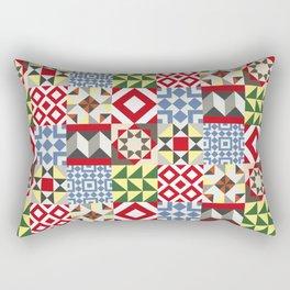 Barcelona Tiles #12 Rectangular Pillow
