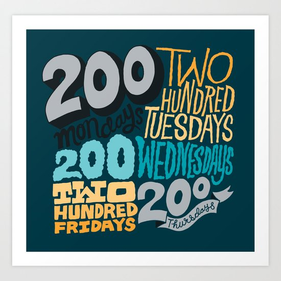 1000  Art Print
