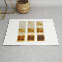 How Do You Like Your Toast Done Rug