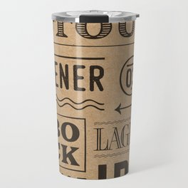 Type beer Travel Mug