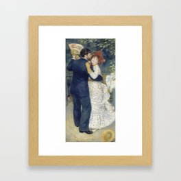 Dance in the Country by Pierre-Auguste Renoir Framed Art Print
