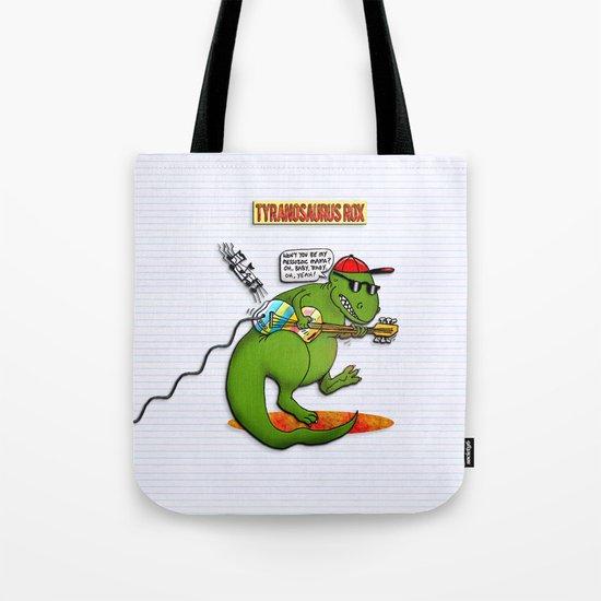 Jurassic Rock Tote Bag