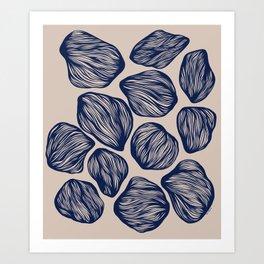 Organic Shapes 1 Art Print