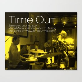 TIME OUT, MARIA MARIA (2) - AUSTIN, TX Canvas Print