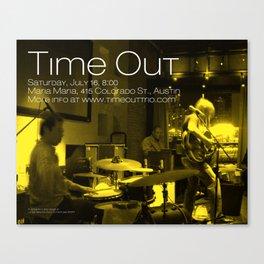 TIME OUT, MARIA MARIA (2) - AUSTIN, TX Canvas Print