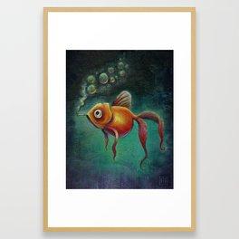 Smoked Salmon Framed Art Print