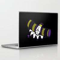 katamari Laptop & iPad Skins featuring Katamari Damacy King by La Manette