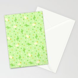 Margaritas and Cactus Stationery Cards