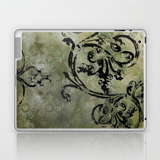 Green Patterns Laptop & iPad Skin