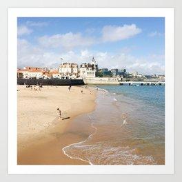 Portugal Beach Art Print
