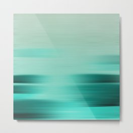 """Abstract Ocean Porstroke (Pattern)"" Metal Print"
