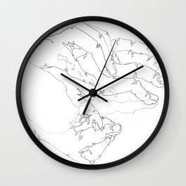FOR Happenstance Lp Wall Clock