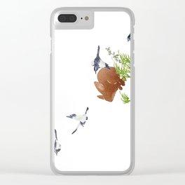 East wind | Miharu Shirahata Clear iPhone Case
