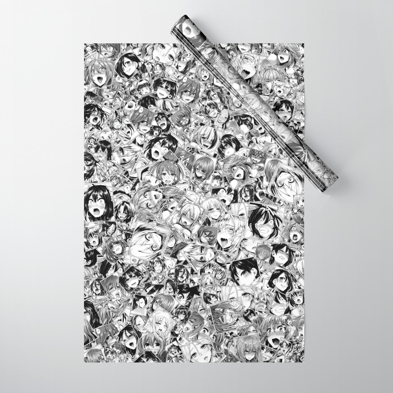 Ahega manga ahegao wrapping paperdima_v