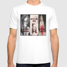 A Tribute to Marilyn Monroe Mens Fitted Tee White MEDIUM