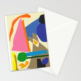 Abstract morning Stationery Cards