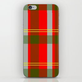 They've Gone Plaid iPhone Skin
