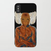 demon iPhone & iPod Cases featuring Demon by Rofi