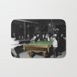 Vintage Pool Hall Bath Mat