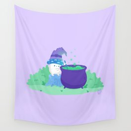 Mushroom Witch | Potion Making 101 Wall Tapestry