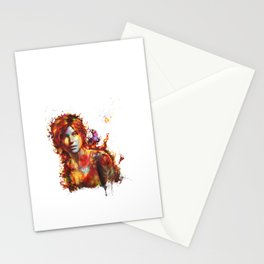Lara Croft Stationery Cards