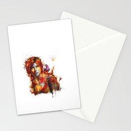 Lara Croft Stationery Cards