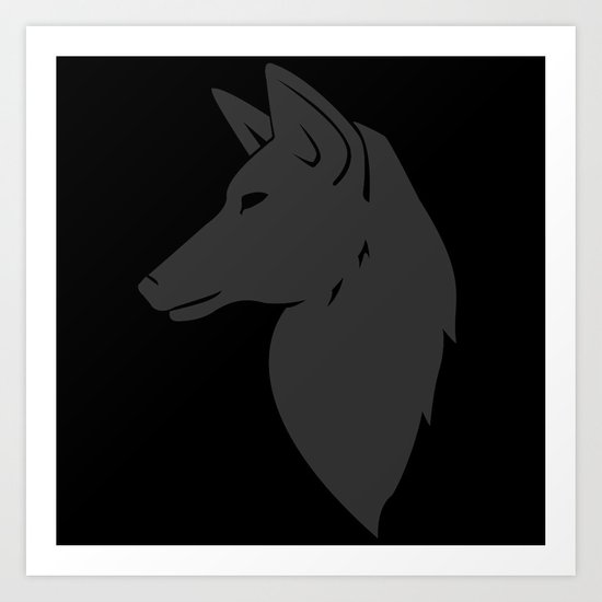 We are Night Fox Art Print