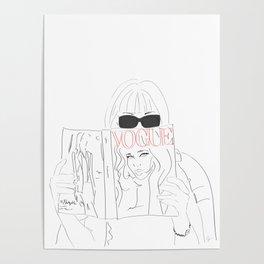 Anna Fashion Editor Poster