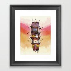 Fly House Framed Art Print