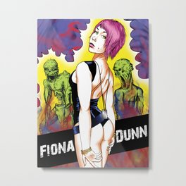 Fionna Rii Metal Print