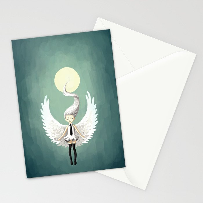 Angel 2 Stationery Cards