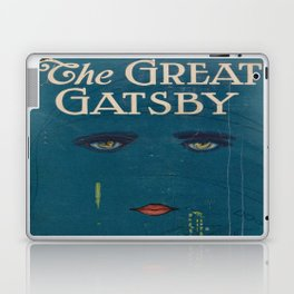 The Great Gatsby vintage book cover - Fitzgerald - muted tones Laptop & iPad Skin