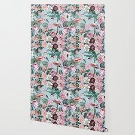 Flamingo Paradise Wallpaper