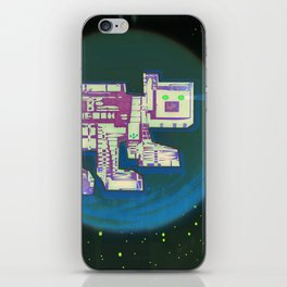 Spatial Bot Dog iPhone Skin